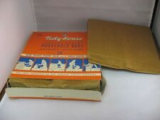 Rare Vintage TIDY-HOUSE PAPER PRODUCTS BROOKLYN NY Kitchen Household Bags