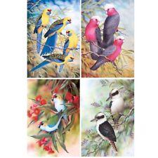 4 Pack 5D Diamond Painting DIY Kits Bird Full Drill Cross Stitch Home Decor