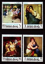 Dubai 1968 Mi.303/06 A fine used c.t.o. Gemälde Paintings Reynolds Ferruzzi