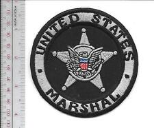 United States Marshal USMS Silver Badge Issued to the Deputies grey Vel hooks Cr