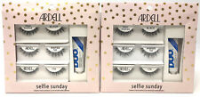 6 Pairs Ardell false Eye Lash Kits SELFIE SUNDAY Demi Wispies Lashes 122 174