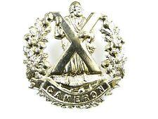 QUEENS OWN CAMERON HIGHLANDERS CLASSIC GENUINE REGIMENTAL CAP BADGE