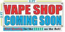 VAPE SHOP COMING SOON Banner Sign NEW