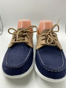 Skechers On-the-GO Boat Performance Shoes Blue Size 7.5 Woman