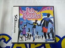 NDS GAME RUB RABBITS (ORIGINAL USED)