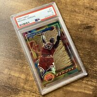 1993 Finest #1 Michael Jordan PSA 9 Bulls