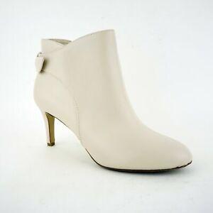 Alfani Women's (Sz 9) Fawwn Back-Tie Ankle, Ivory, $120 (3423P)