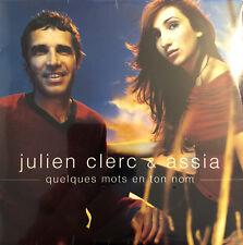 Julien Clerc & Assia CD Single Quelques Mots En Ton Nom - France (M/M - Scellé)