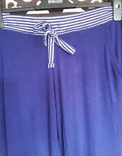 Happiness is Napping M&S Sleep Women's Pajama Bottom Navy Size 8