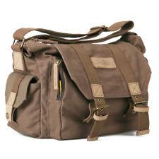 Photo Sling Messenger Canvas Shoulder Bag Soft Padded Travel DSLR Video Case