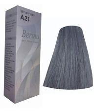 Berina Permanent Hair dye color cream # A21 Light Grey