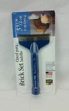 "Dasco Products 0436-0 3-1/2"" Brick Set Block chisel USA"