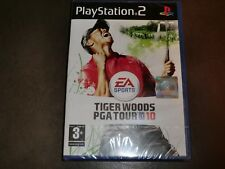 TIGER WOODS PGA TOUR 10  SONY PLAYSTATION PS2 NEW  SEALED