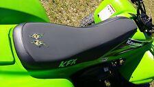 KAWASAKI KFX 700  V  force gripper seat cover  KFX logo and eyes