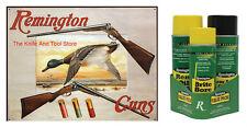 Remington Gun Care Value 3 Pack - Brite Bore, Action Cleaner & Rem Oil/RE18156