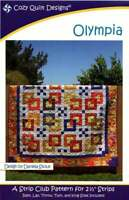 Olympia Quilt Pattern by Cozy Quilt Designs