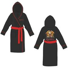 Queen - Classic Crest Hooded fleece Bathrobe / Dressing Gown - New & Official