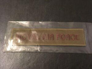 Abzeichen britische Armee UK Aufnäher Patches Royal Air Force RAF      -1124-
