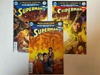 Superman Lot: 28 29 30 DC 2017