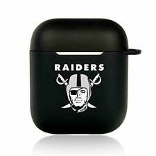 Oakland Raiders NFL Team 3D Cartoon Silicone AirPods 1/2 Protective Case Cover