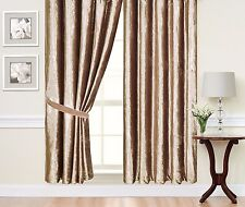"Caravan Curtain Pair of Fully Lined Ready Made Plain Heavy Crushed Velvet 44"" Wide X 42"" Drop Grey"