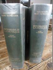 ENCYCLOPEDIE DICTIONNAIRE DE LA MUSIQUE HONEGGER MUSICOLOGUE INSTRUMENT BORDAS
