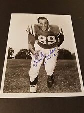Gino Marchetti (Hof72) Signed 8x10 Photo Autograph- Baltimore Colts - Nfl