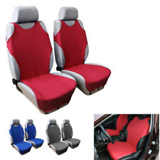 1x Universal Red T-shirt Auto Car Front Seat Cover Washable Chair Protector DIY