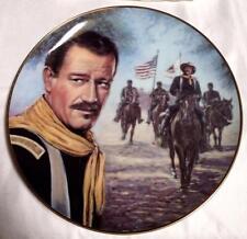 John Wayne, The Ride Home Rio Grande Movie Collection Plate