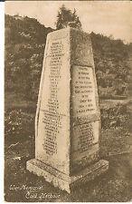 ROFFEY SERIES POSTCARD 1914-1918 WAR MEMORIAL COLD HARBOUR SURREY C1920'S
