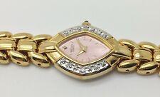 SEIKO LADIES SZZ760 RETRO NON-WORKING DRESS DIAMOND QUARTZ WATCH 2E20-7059