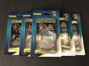 2020-21 Panini Absolute Memorabilia NBA Basketball Pack w/2 Bonus Factory Sealed