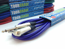 Neutrik Straight to Angled Guitar Cable. Effects Patch Jumper Lead PRO 6.35mm