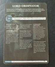 AOS Age of Sigmar Promo Data Card Lord-Ordinator
