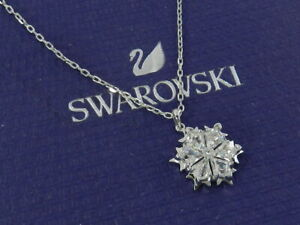 SWAROVSKI  MAGIC SNOW PENDANT, WHITE, RHODIUM PLATED