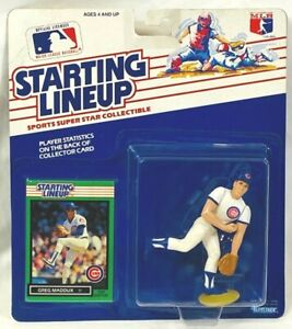 ⚾️ 1989 ROOKIE STARTING LINEUP -SLU MLB - GREG MADDUX - CHICAGO CUBS - VHTF - NM