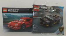 LEGO SPEED CHAMPIONS 75890 FERRARI F40 COMPETIZIONE + 30342 **NUEVO SIN ABRIR**