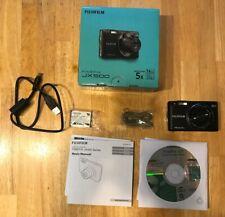Fujifilm FinePix JX500 14.0MP Black Digital Camera, No AC adapter, Open Box
