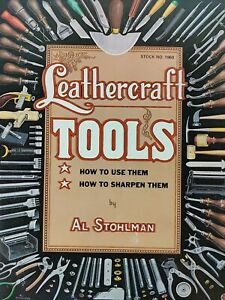 Leather craft TOOLS Al Stohlman 1984 Guide Booklet