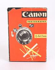 CANON PHOTOGRAPHY, DESCHIN, FIRST EDITION, 1957/216826