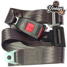 VINTAGE Warehouse Classic Grigio Anteriore Posteriore Statica 2 Punti braccio a Sedile Cintura di sicurezza