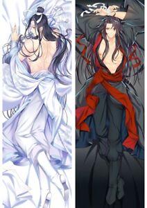Grandmaster of Demonic Cultivation Dakimakura Lan Wangji Body Pillow Case Cover