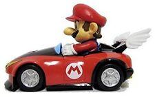 "Nintendo Mario Kart Wii Pull-Back Car Mini Figure - 3"" Mario (Japanese Import)"