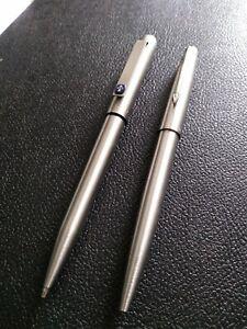 VINTAGE PARKER 25 Pencil, + Parker 45 Ballpoint Pen. MADE IN ENGLAND. GWO.