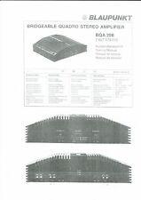 Blaupunkt Service Manual für BQA 208