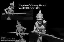 CGS French Imperial Young Guard Waterloo 1815 1/9th Bust Unpainted kit CARL REID