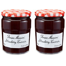 Bonne Maman French Strawberry Conserve 750g Strawberry Jam Pack of 2 Jars