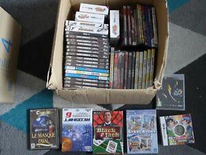 LOT de 50 JEUX PC DS xbox 360 WIIU - NEUF SOUS BLISTER - IDEAL REVENDEUR