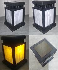 Nr. 10 Standard Laterne Grablaterne mit Solar Licht Deko Dekoration Lithophanie