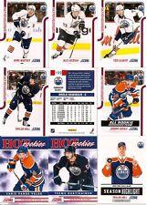 2011-12 Panini Score Edmonton Oilers Complete Team Set (18)
